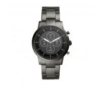 Fossil Men's Hybrid Smartwatch HR Collider Smoke Stainless Steel