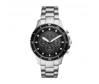 Fossil Men's Hybrid Smartwatch HR FB-01 Stainless Steel