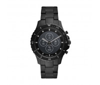 Fossil Men's Hybrid Smartwatch HR FB-01 Black Stainless Steel