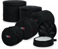 "Gator Cases Standard Drum Set Bags: 22""X18"", 12""X10"", 13""X11"", 16""X16"", 14""X5.5"""