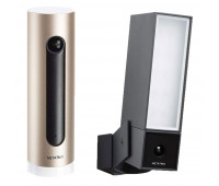 Netatmo Indoor and Outdoor Smart Security Cameras – Netatmo Welcome and Netatmo Presence – 2 pack bundle
