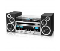 Innovative Technology - Classic CD Stereo System with Bluetooth and Record Player