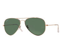 Ray-Ban RB3025 Polarized Original Aviator Sunglasses