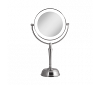 Zadro LED Lighted Vanity Mirror with Rechargeable Battery & USB Port 10X/1X