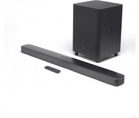 "JBL Bar 5.1 Soundbar with Built-in Virtual Surround, 4K and 10"" Wireless Subwoofer"