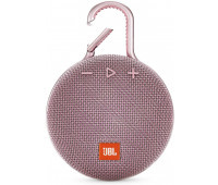 JBL Clip 3 Portable Waterproof Wireless Bluetooth Speaker - Pink