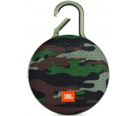 JBL Clip 3 Portable Waterproof Wireless Bluetooth Speaker - Squad Camo