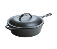 Lodge 3.2 Quart CVR Deep Cast Iron Skillet