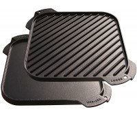 "Lodge 10.5"" Cast Iron Reversible Grill/Griddle"