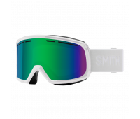 Smith Optics - Range Green Sol-X Mirror Goggles - White