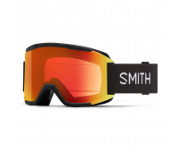 Smith Optics - Squad Chromapop Everyday Red Mirror Goggles - Black