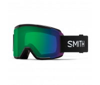 Smith Optics - Squad Chromapop Everyday Green Mirror Goggles - Black
