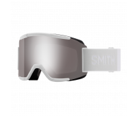 Smith Optics - Squad Chromapop Sun Platinum Mirror Goggles - White Vapor