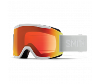 Smith Optics - Squad Chromapop Everyday Red Mirror Goggles - White Vapor