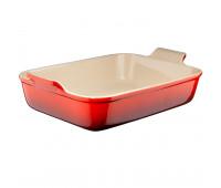 "Le Creuset - Heritage 7x5"" Rectangular Dish, Cerise"