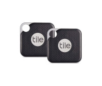 Tile Pro Item Finder with Replaceable Battery - 2 Pack