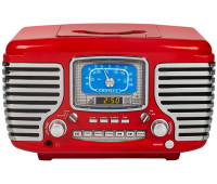 CROSLEY - CORSAIR WITH BLUETOOTH - RED