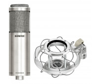 Shure KSM353/ED Bi-directional ribbon microphone bundle with A300SM ShureLock Wire Rope Shock Mount