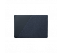 """Native Union Stow Slim for MacBook Pro 16"""", MacBook Pro 15"""" (2016-2019) – Premium MacBook Sleeve with Easy-Access Magnetic Closure and Exterior Pocket (Indigo)"""