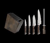Shun Cutlery Kanso 6 Pc Knife Block Set