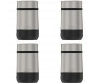 Guardian Collection by Thermos 18oz Stainless Steel Travel Food Jar 4 Pack