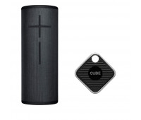 Ultimate Ears Bundle with MEGABOOM 3 - Night Black + Cube Pro