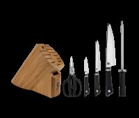 Shun Cutlery Sora 6 Pc Basic Knife Block Set