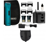 Wahl Professional Animal Arco Pet, Dog, Cat, and Horse Cordless Clipper Kit - Teal + Wahl Professional Animal 5-in-1 Diamond Blade