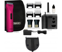 Wahl Professional Animal Arco Pet, Dog, Cat, and Horse Cordless Clipper Kit - Radiant Pink + Wahl Professional Animal 5-in-1 Diamond Blade