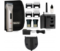 Wahl Professional Animal Arco Pet, Dog, Cat, and Horse Cordless Clipper Kit - Champagne + Wahl Professional Animal 5-in-1 Diamond Blade